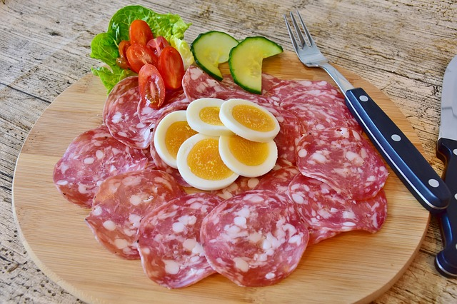 salame é low carb